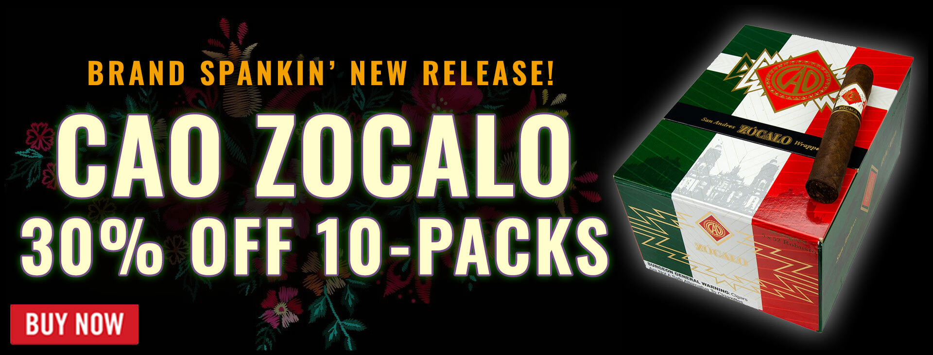 NEW CAO Zocalo now 30% OFF!