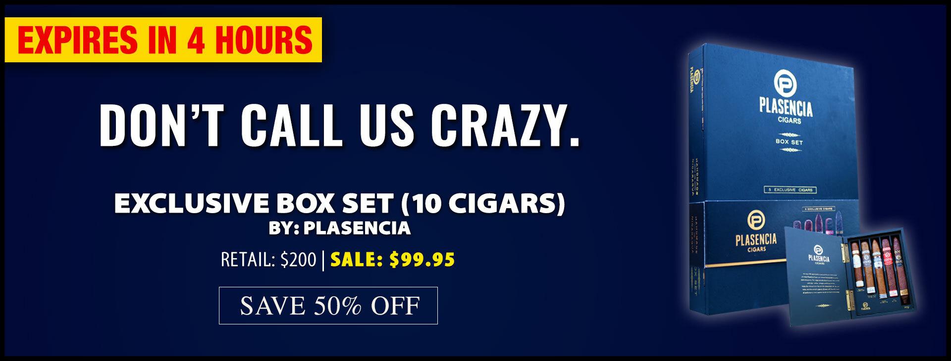 Plasencia Exclusive Box Set 4 Hour Deal