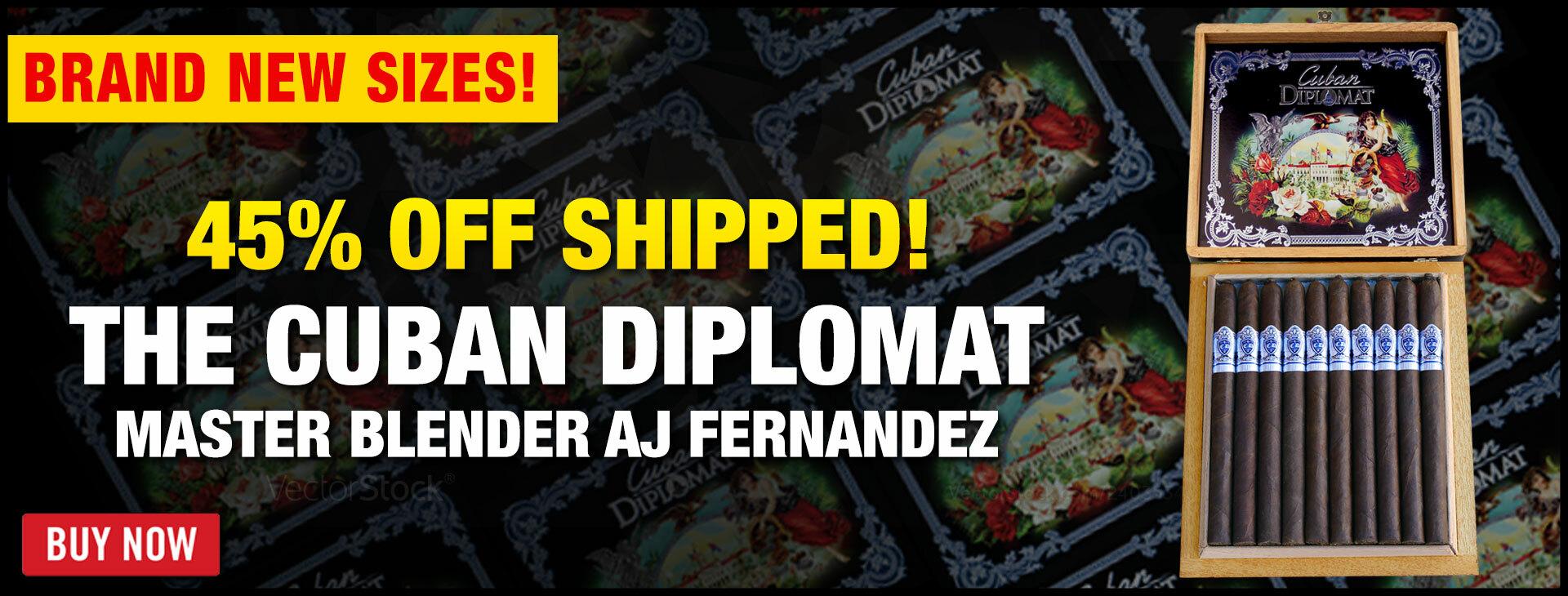 Cuban Diplomat 2021 Limited Edition Lancero