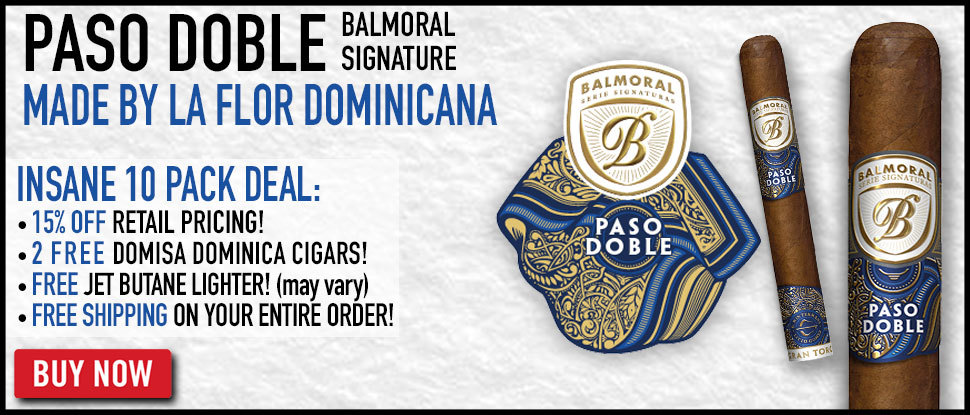 NEW Balmoral Paso Doble Insane 10 Packs