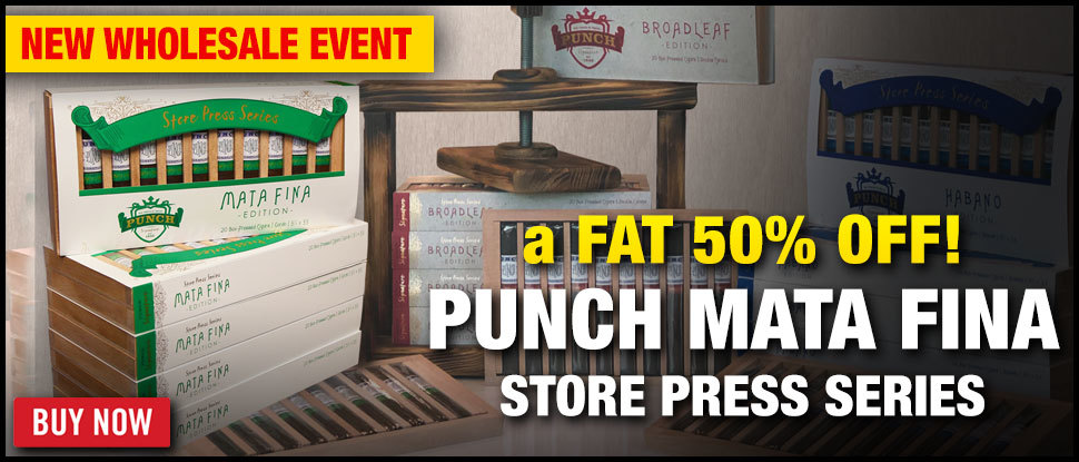 50% OFF Punch Mata Fina Store Press Series!