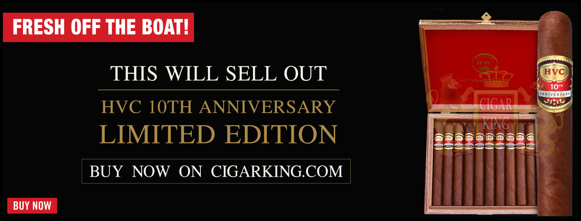 BRAND NEW- HVC 10TH ANNIVERSARY LIMITED ED.