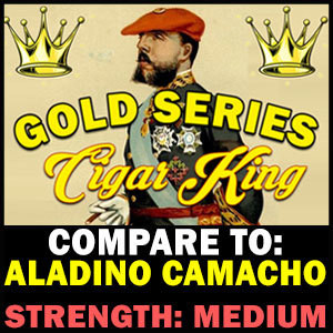 Cigar King Gold Series Bundles By Aladino Cigars