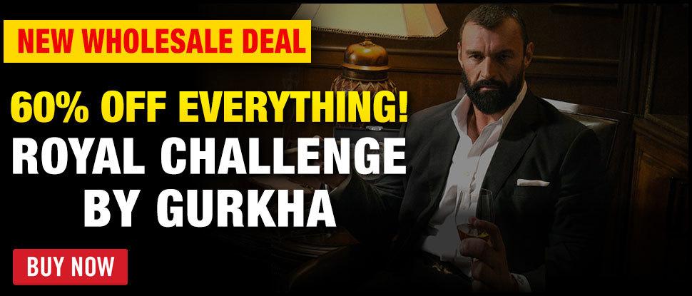 60% OFF Gurkha Royal Challenge Maduro!