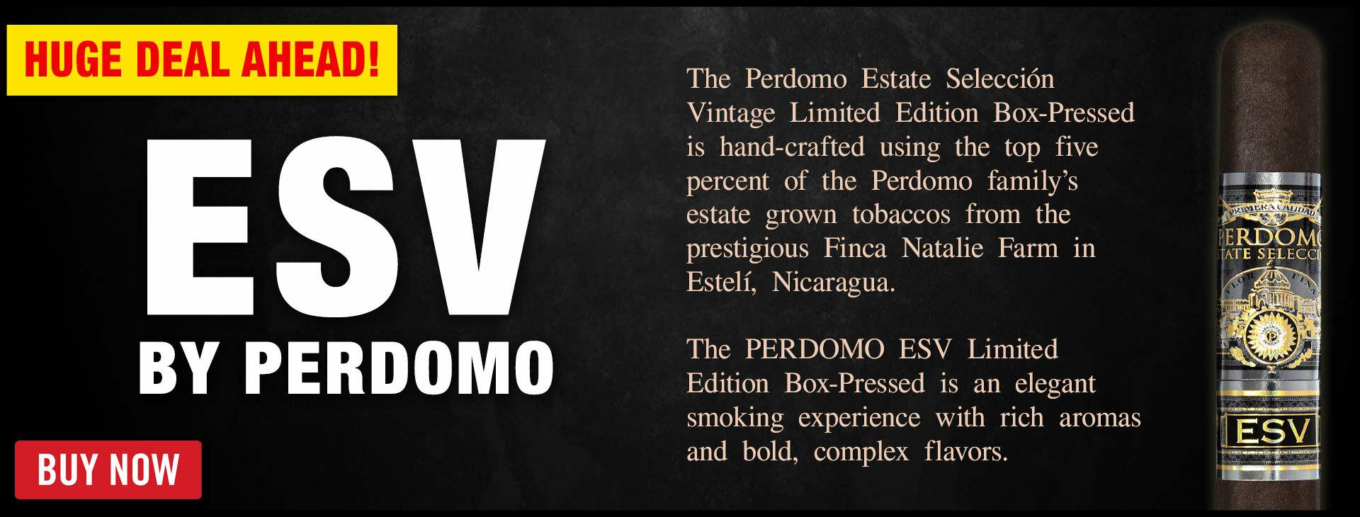 RARE Perdomo ESV Limited Edition Is Here!