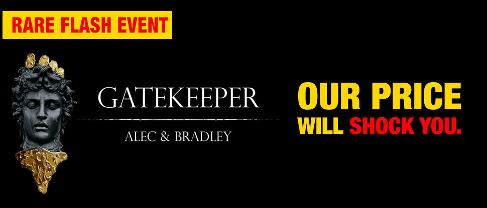 RARE 40% OFF Alec Bradley Gatekeeper!