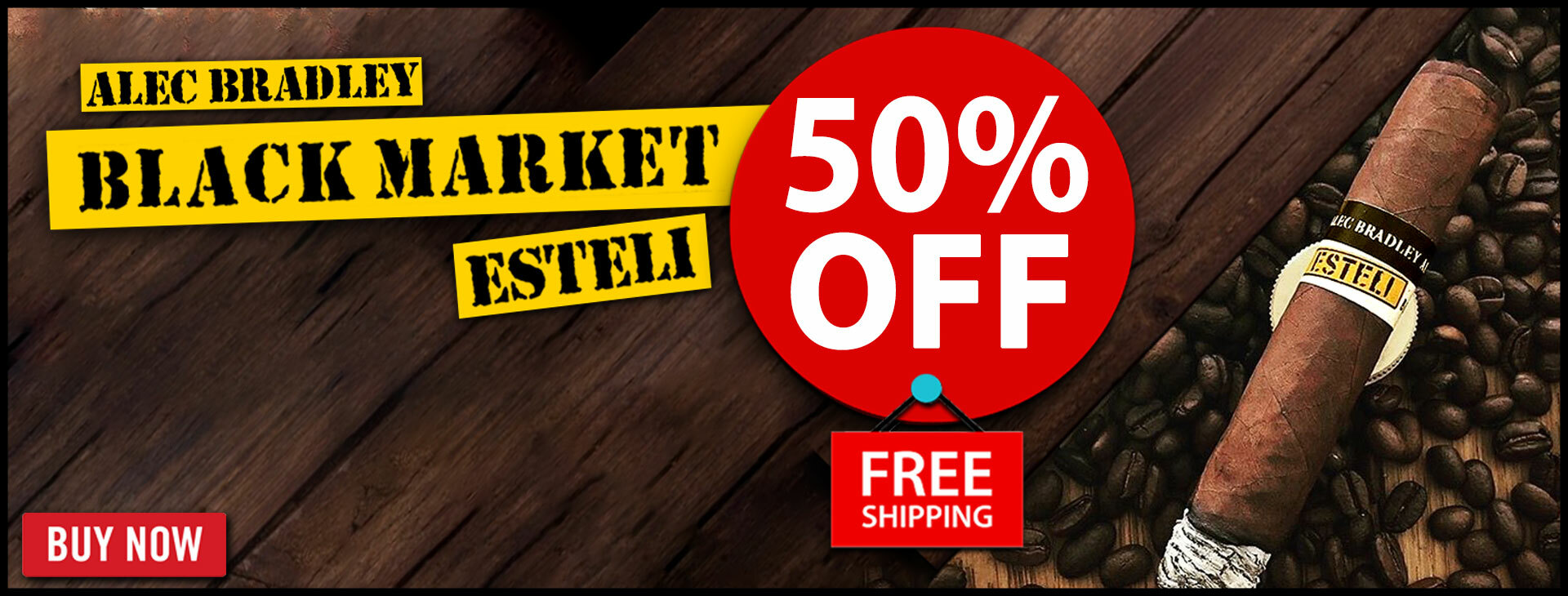 50% OFF Black Market by Alec Bradley - RARE DEAL!