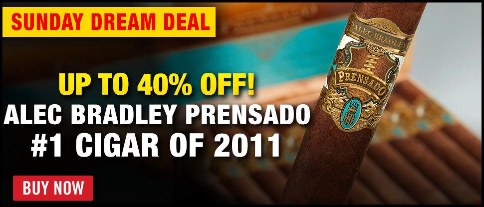 40% OFF #1 CIGAR OF 2011 PRENSADO