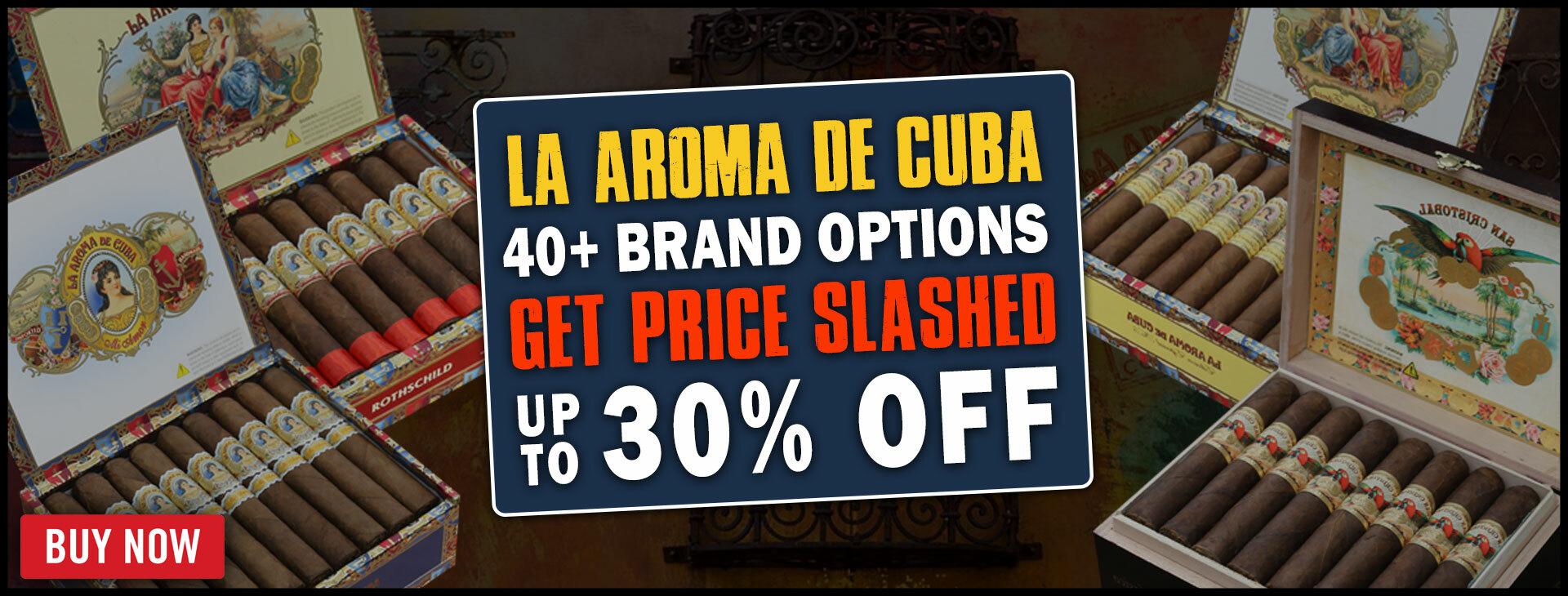 RARE 30% OFF LA AROMA DE CUBA & SAN CRISTOBAL!