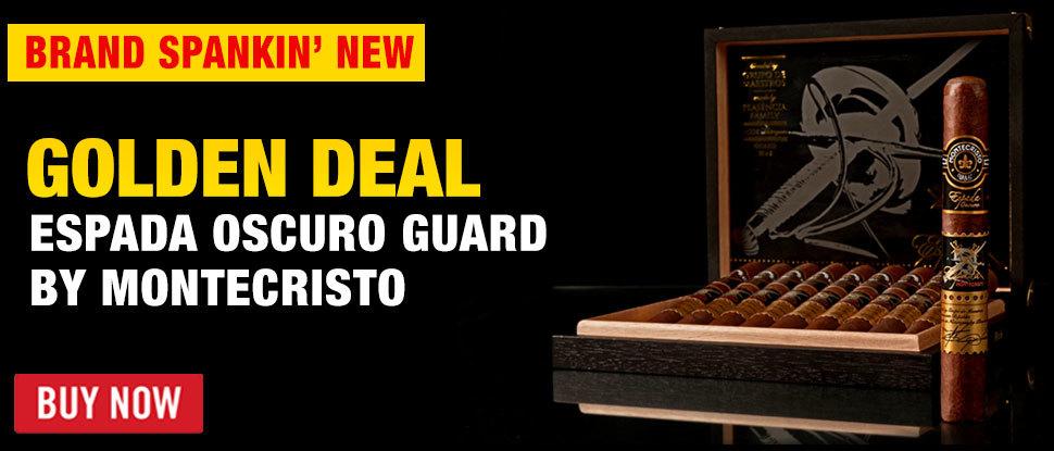 Montecristo Espada Oscuro Golden Deal