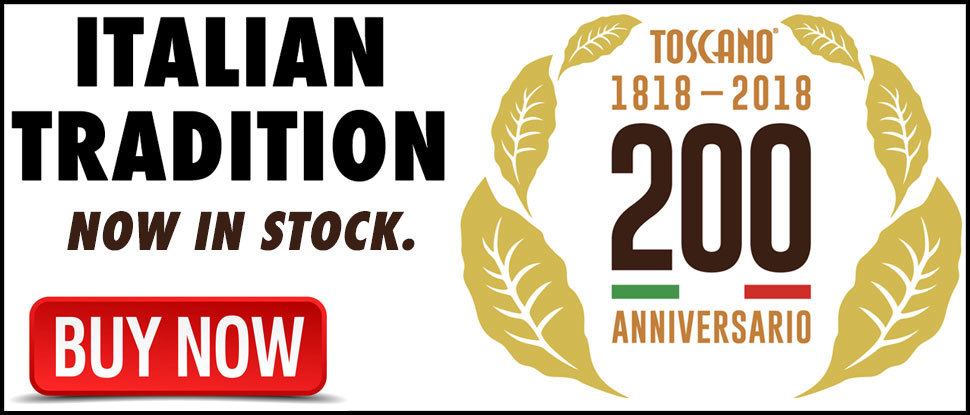 Toscano Cigars - Now In Stock!