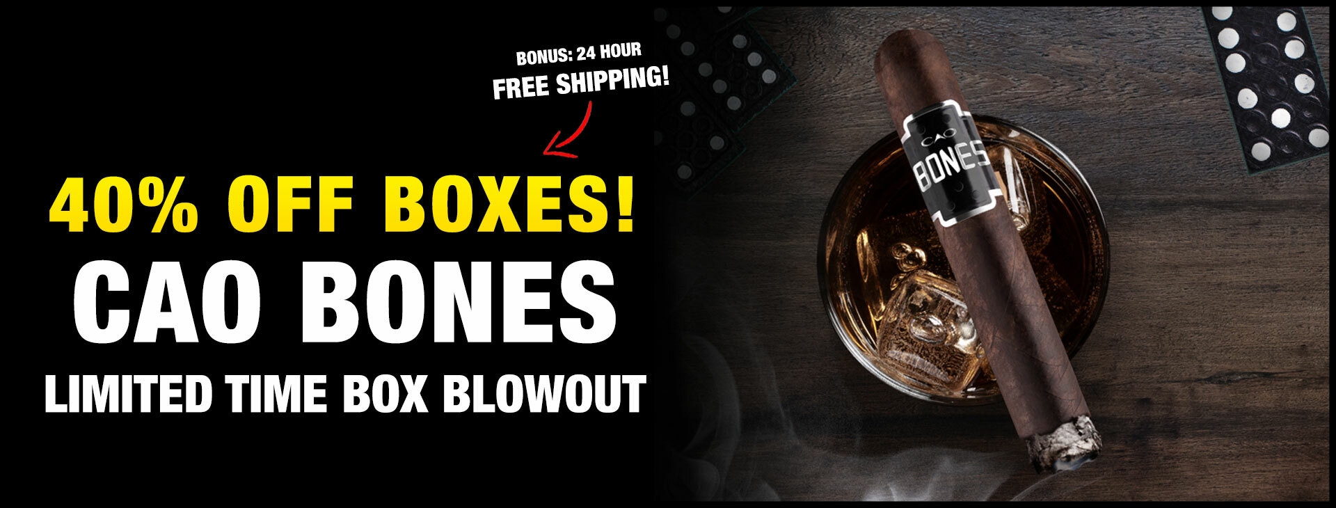 PRICE DROP: New CAO Bones!