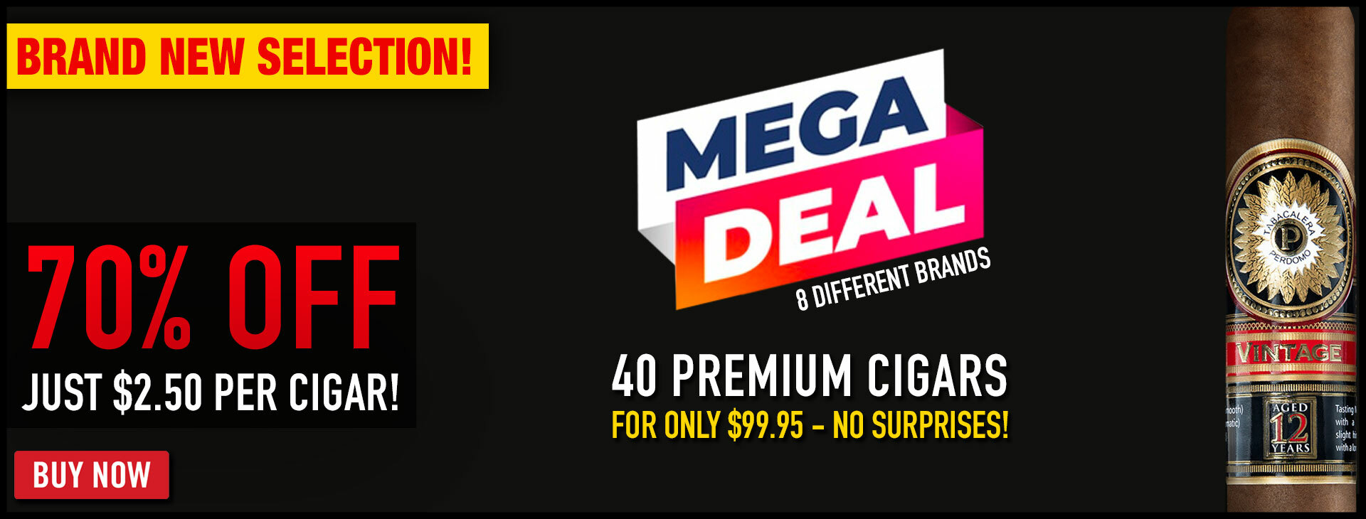 40 CIGARS FOR JUST $99!!!