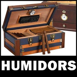 Desktop Cigar Humidors