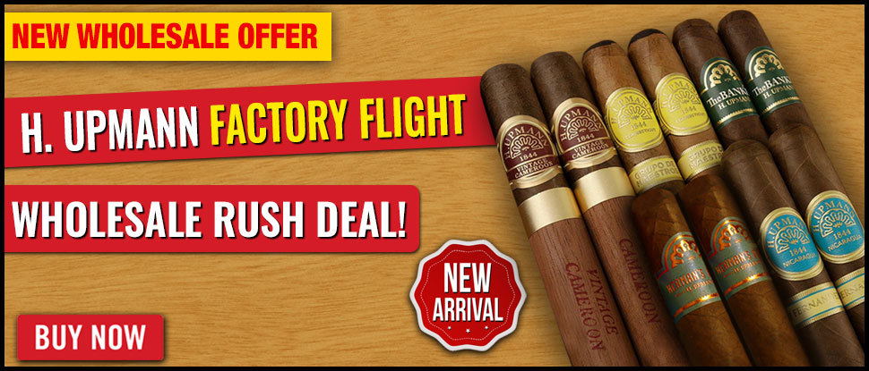 50% OFF: Cuban All-star H. Upmann Flights!