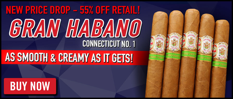 CHEAP: UP TO 55% OFF Connecticut Gran Habano!