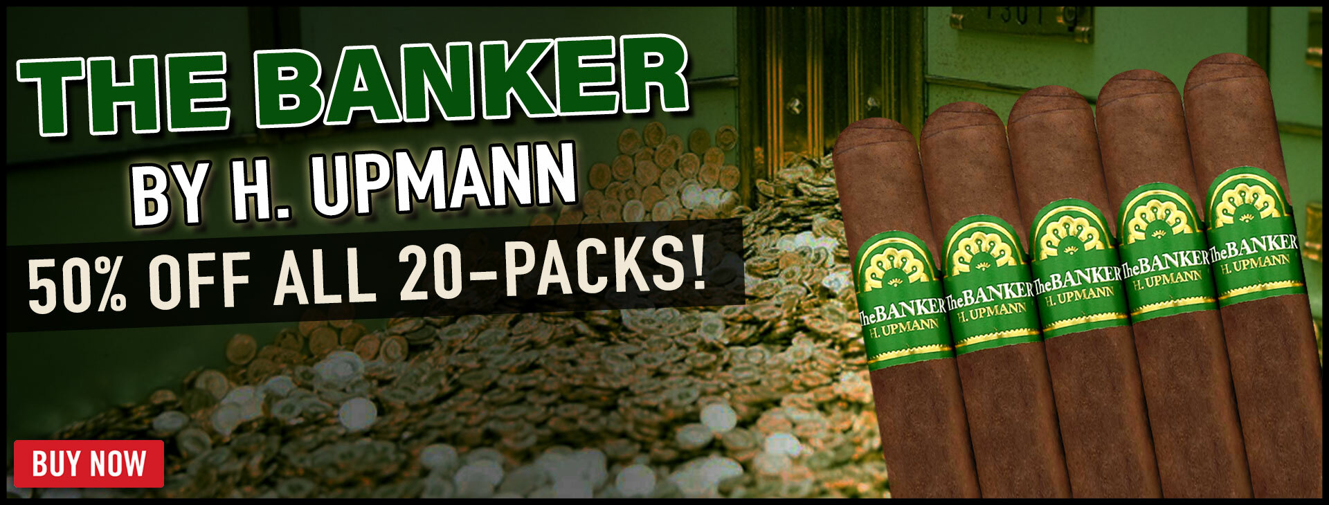 50% Off Banker By H. Upmann