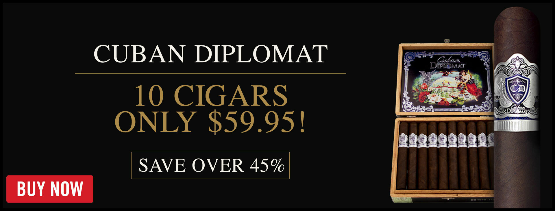 50% OFF Cuban Diplomat Limited Edition
