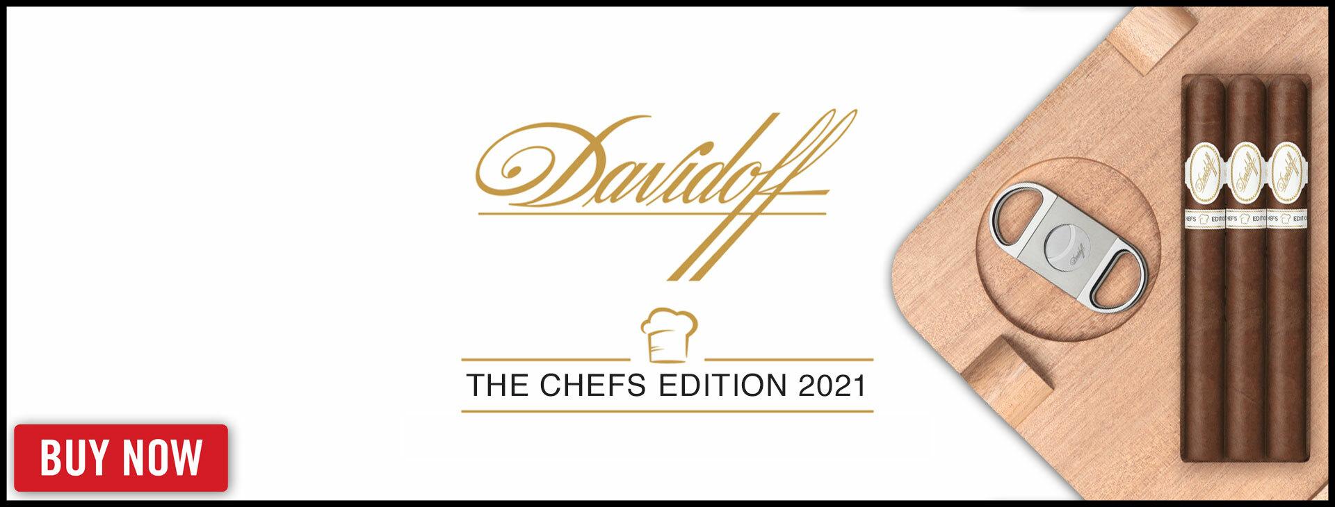 Rare 2021 Davidoff Chef's Edition