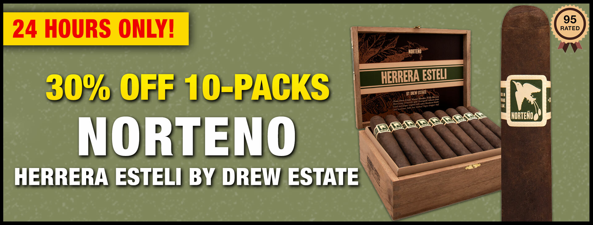 Drew Estate Norteño 10 Pack Deals!