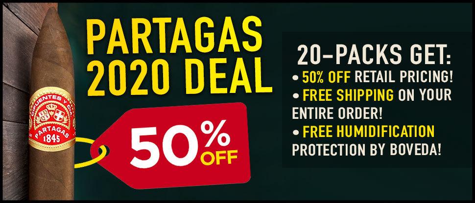 50% OFF Partagas Serie S 1845!