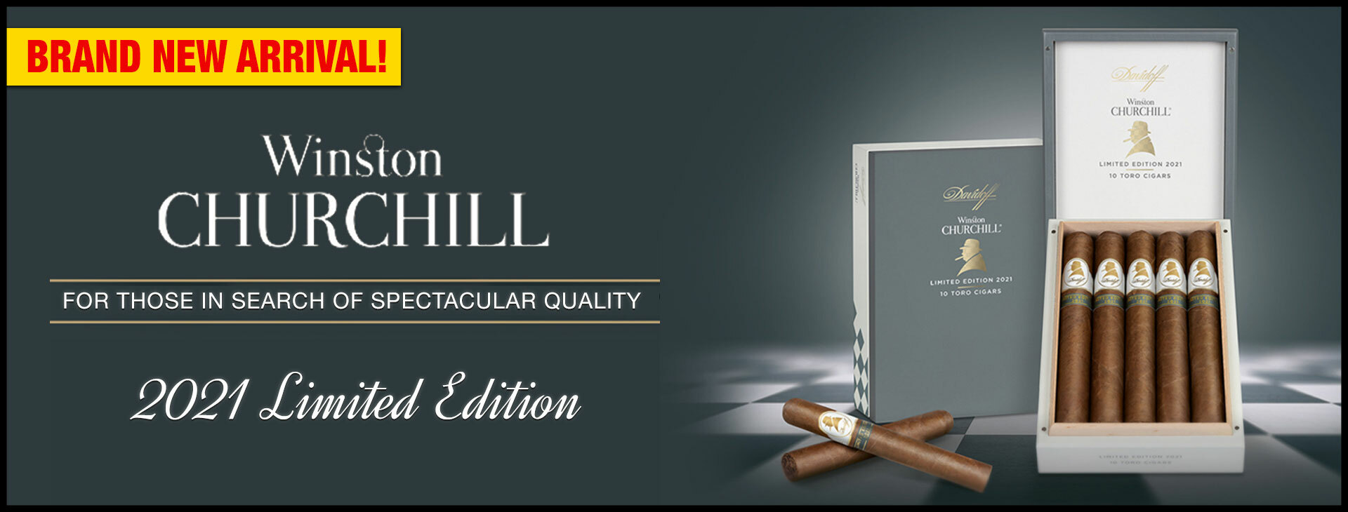 Winston Churchill 2021 Limited Edition Special