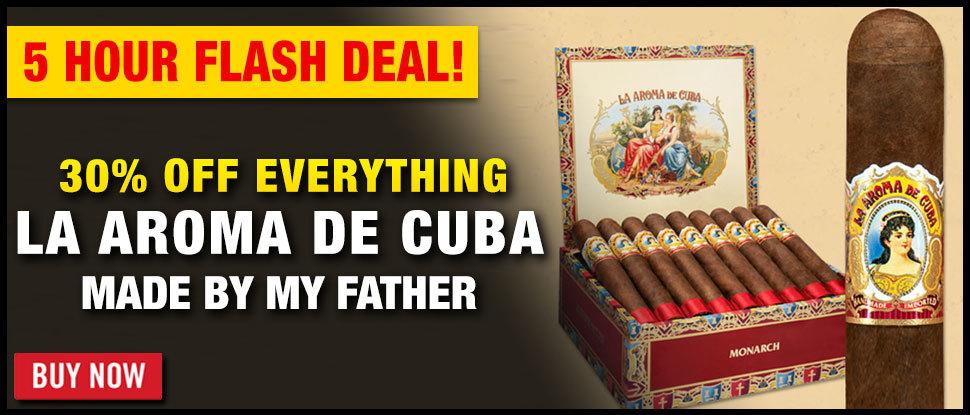 30% OFF LA AROMA DE CUBA CLASSIC!