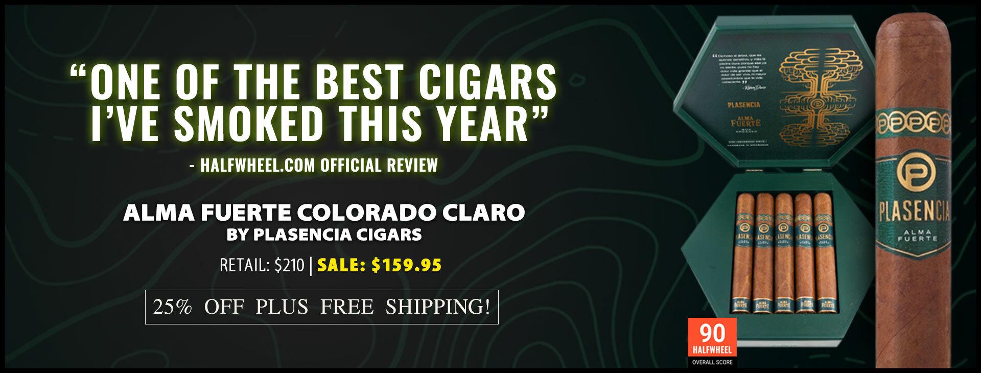 25% OFF Plasencia Cigars
