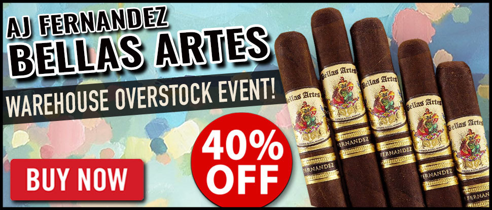 AJ Fernandez Bellas Artes Maduro 10 Packs!