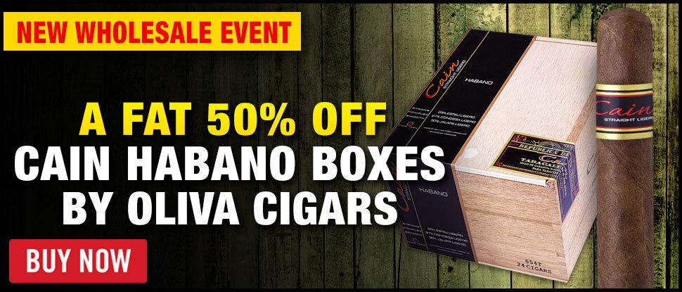 50% OFF CAIN HABANO BY OLIVA!