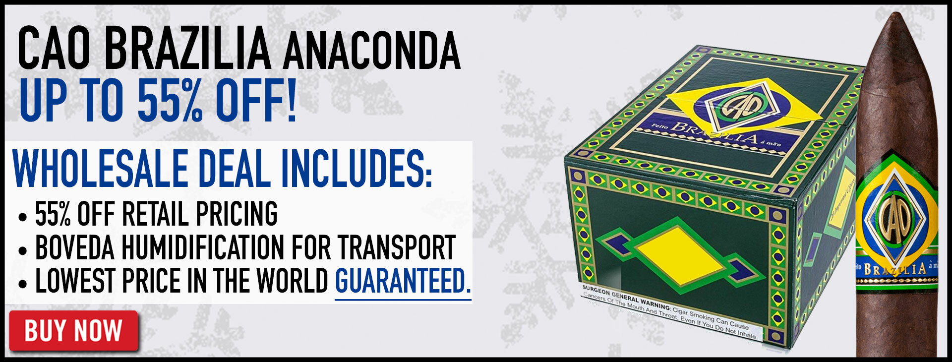 55% OFF CAO Brazilia Anaconda!
