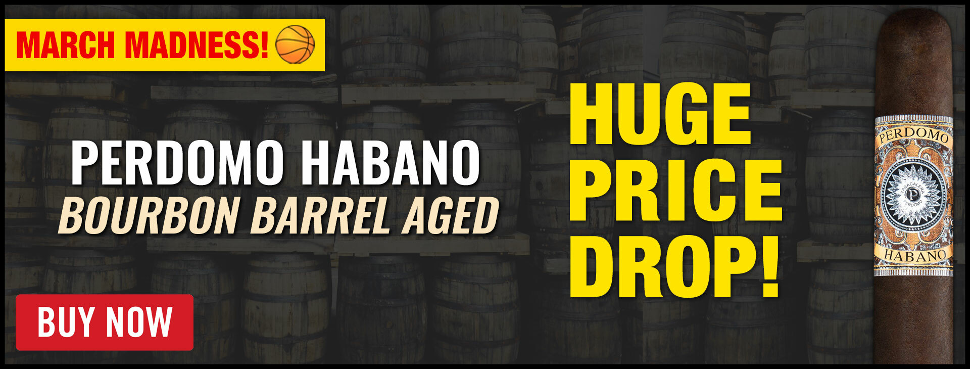 Perdomo Habano Bourbon Barrel Aged DEAL!