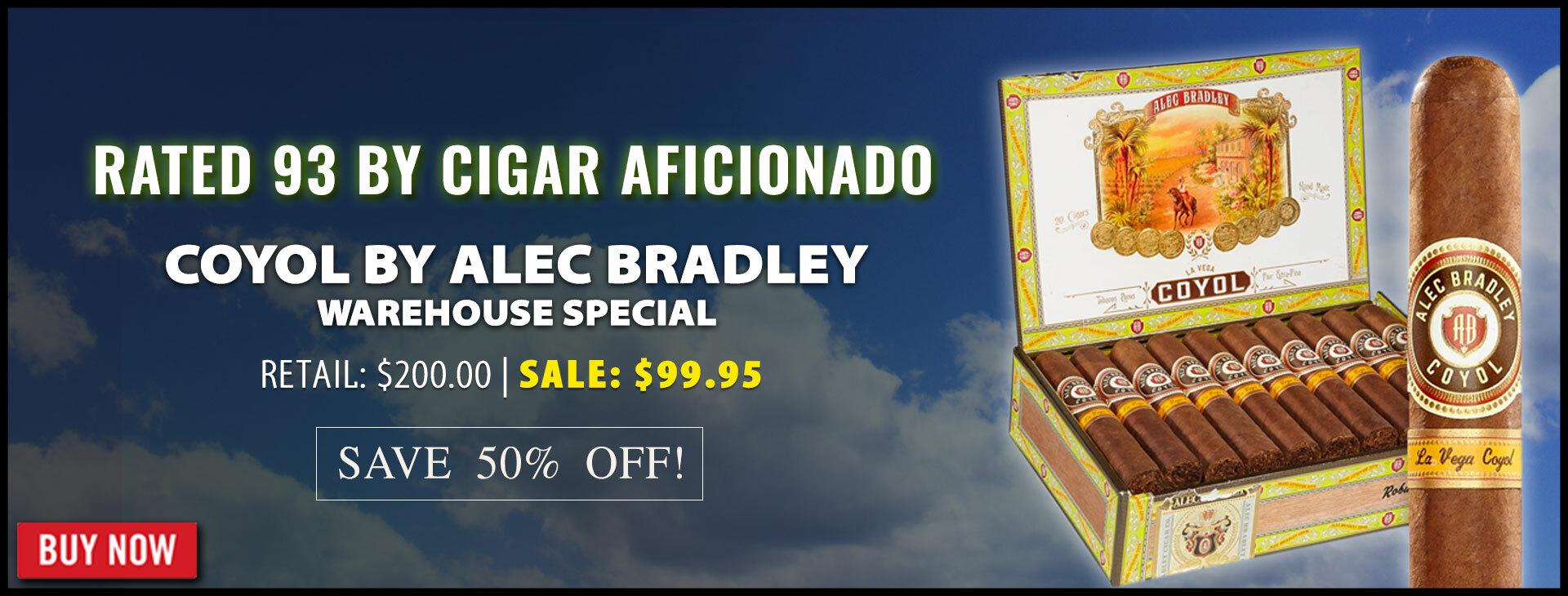 50% OFF Alec Bradley Coyol