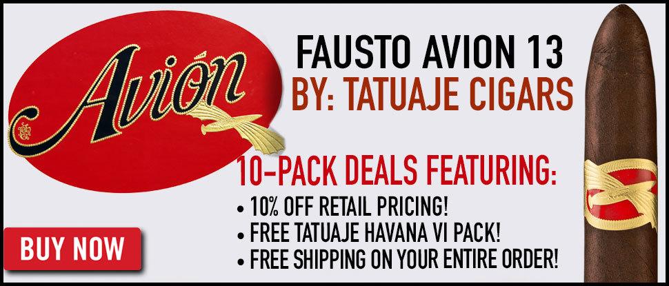 Tatuaje Avion Deal!