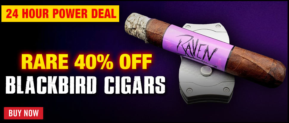 40% OFF Blackbird Cigar Company 10 Packs!