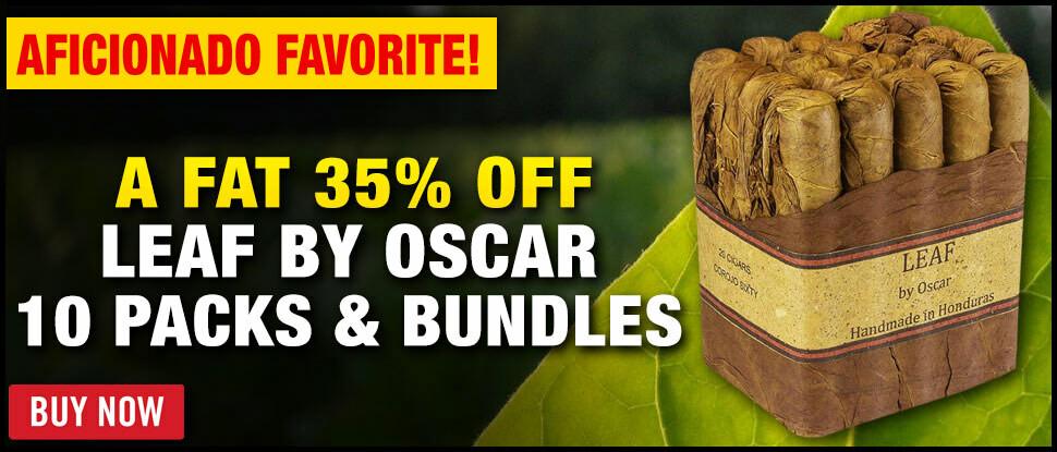 35% OFF LEAF BY OSCAR!