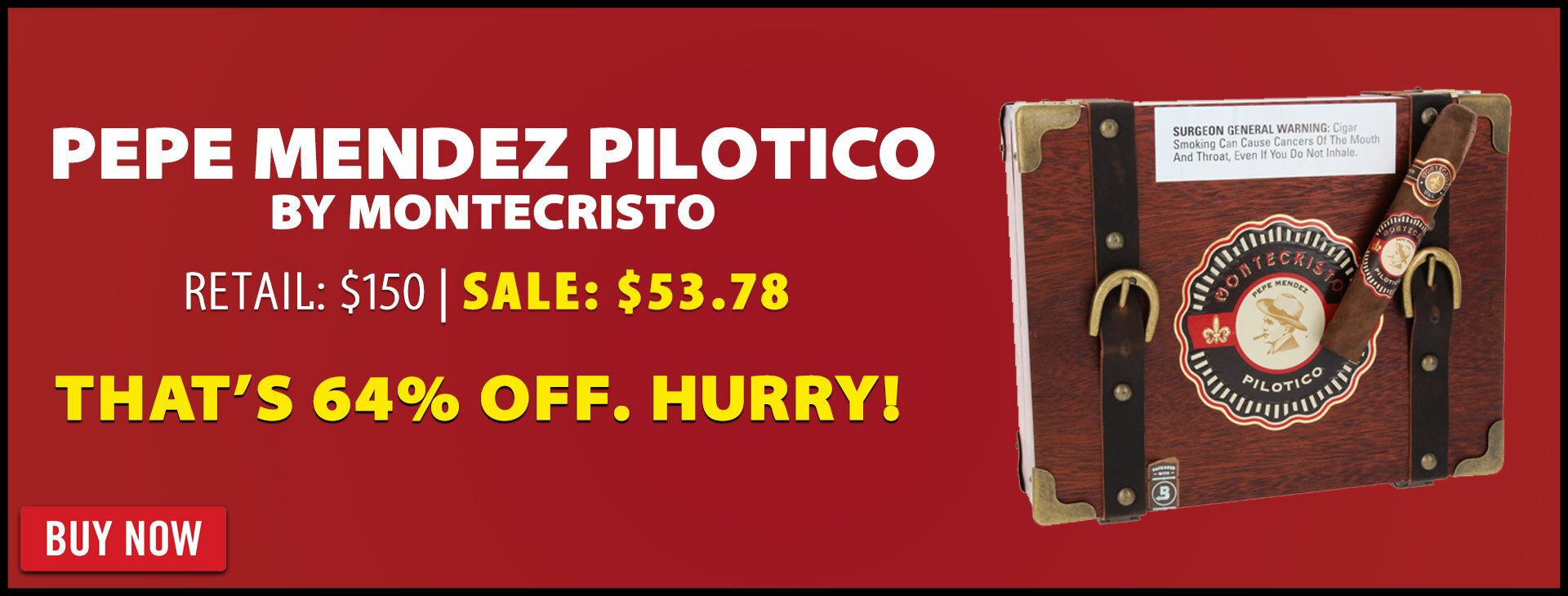 64% OFF MC Pilotico Pepe Mendez Liquidation!