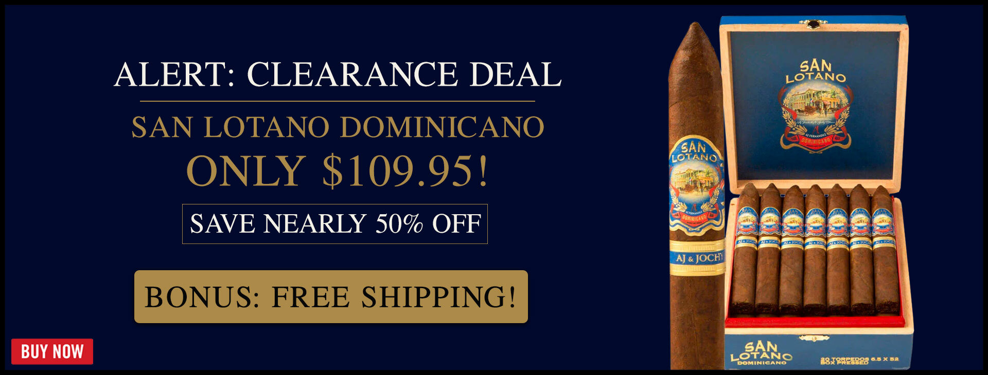 CLEARANCE: 47% OFF SAN LOTANO DOMINICANO