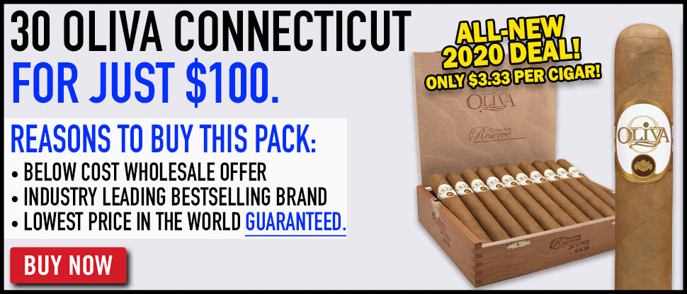 30 Oliva Connecticut For $99.95!