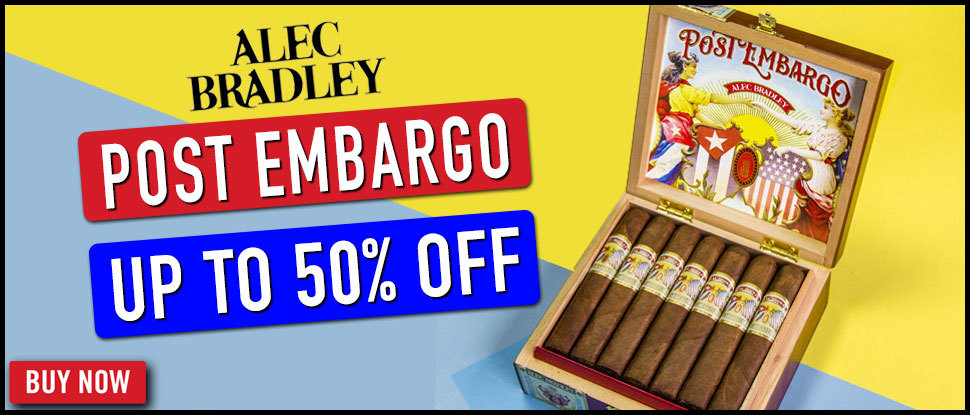 POST EMBARGO BY ALEC BRADLEY- UP TO 50% OFF!