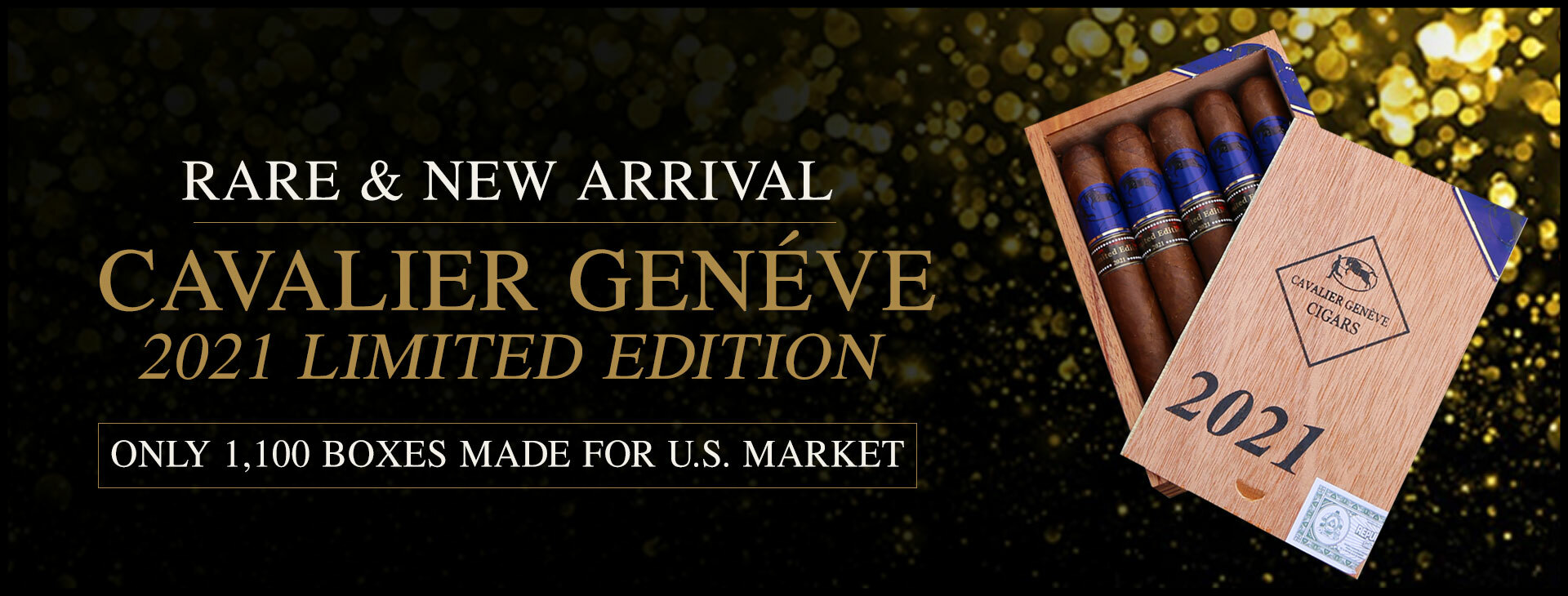 RARE CAVELIER GENEVE 2021 LIMITED EDITION