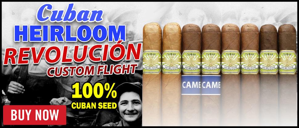 Cuban Heirloom Revolución Custom Flights!