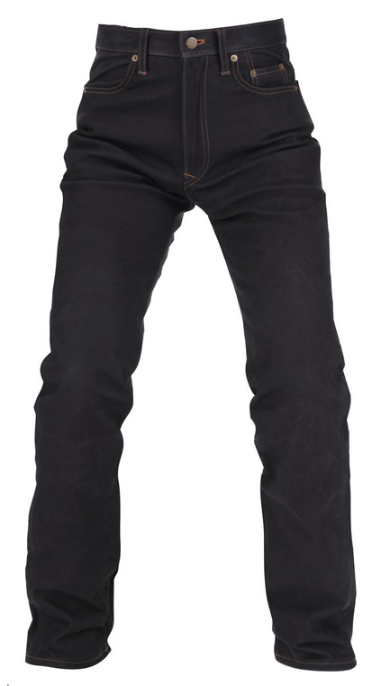 Kushitani EX 413 Leather Country Jeans Black only.