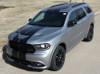 front angle of NEW! GT, SRT, RT Dodge DURANGO RALLY Racing Stripes 2014-2020