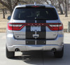 rear view of NEW! GT, SRT, RT Dodge DURANGO RALLY Racing Stripes 2014-2021