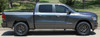 side view of 2019 Dodge Ram Side Decals RAM EDGE SIDE KIT 2019-2021