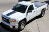 front angle GMC Sierra Graphics Decals & Accents MIDWAY 2014-2016 2017 2018