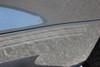 close up of Mustang Fade Tri-Line Rockers Stripes TRILINE ROCKER 2015-2018