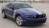 front angle Center Hood and Side Stripes for Mustang PRIME 2 2013-2014