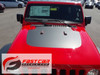 hood of red 2019 Jeep Wrangler Hood Graphics SPORT HOOD 2018-2020